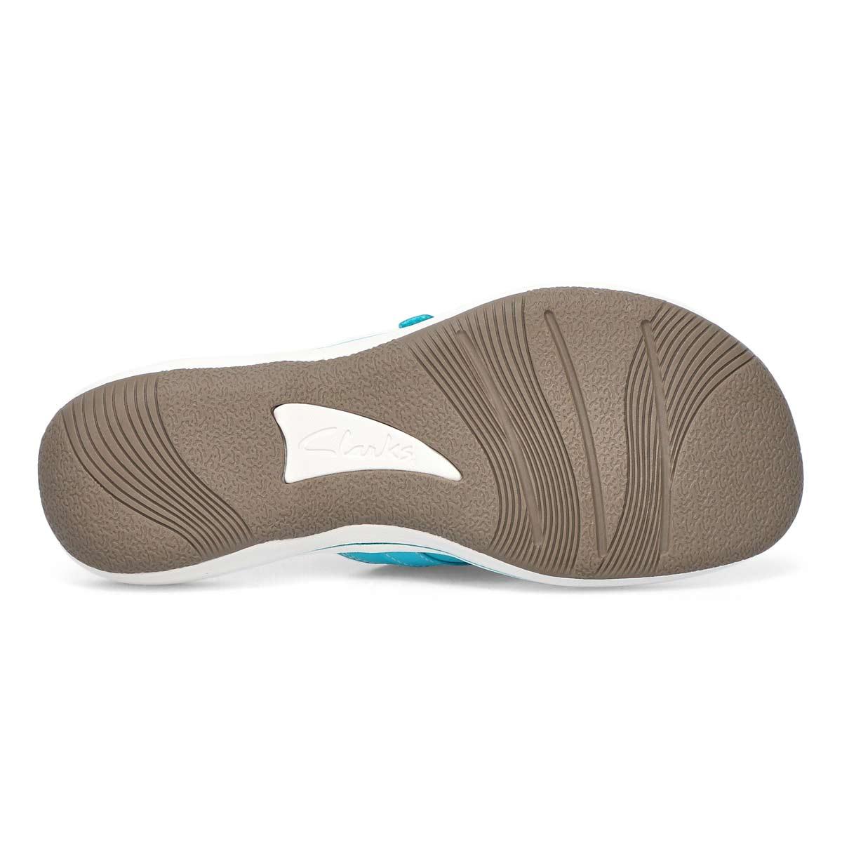 Sandale tong Breeze Sea, aqua femme