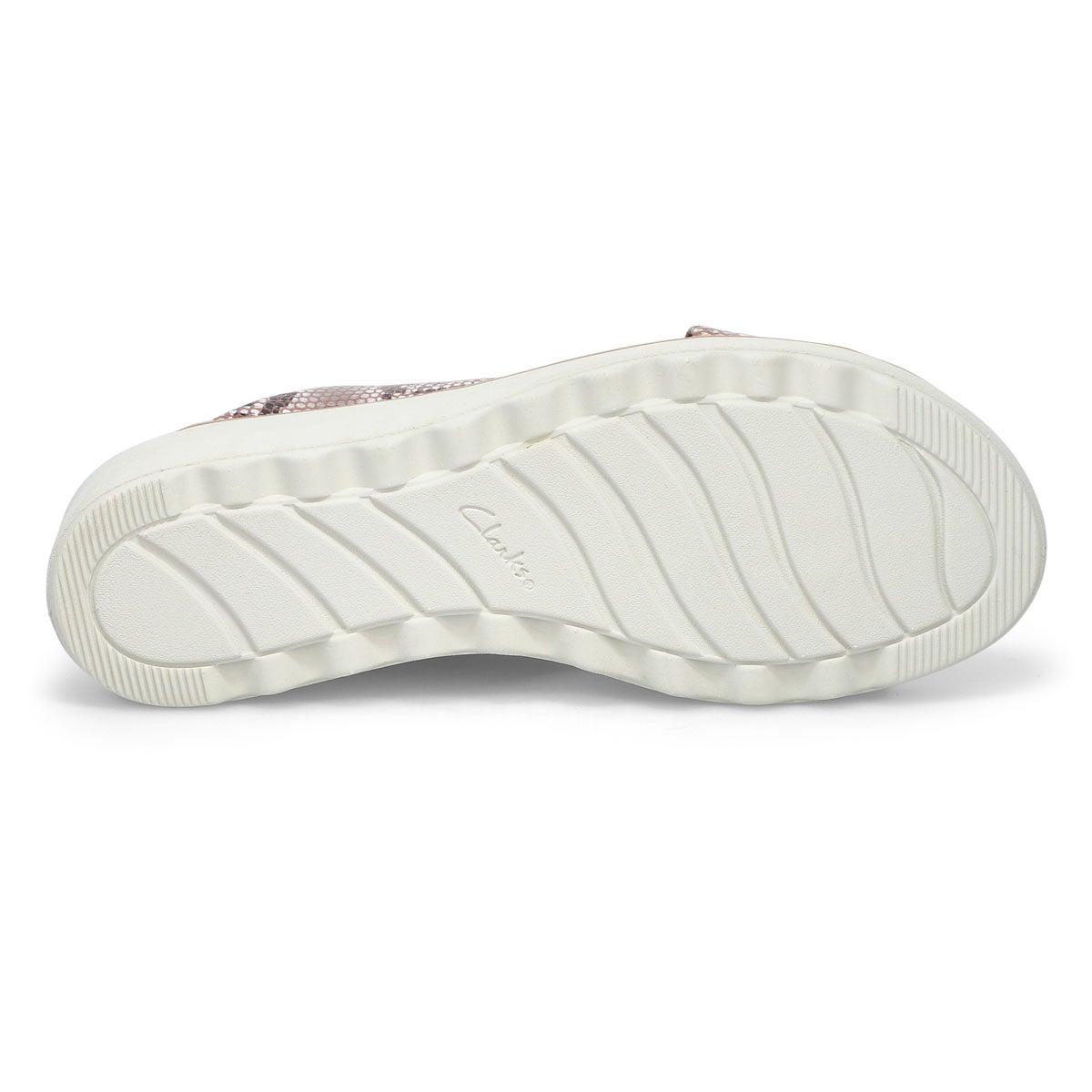 Women's Jillian Gem Slide Sandal - Natural Snake