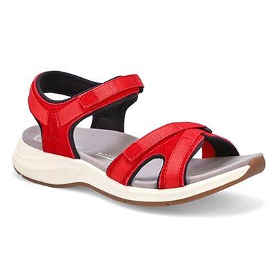 Lds Solan Drift red sport sandal
