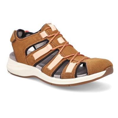 Lds Solan Sail dark tan sport sandal