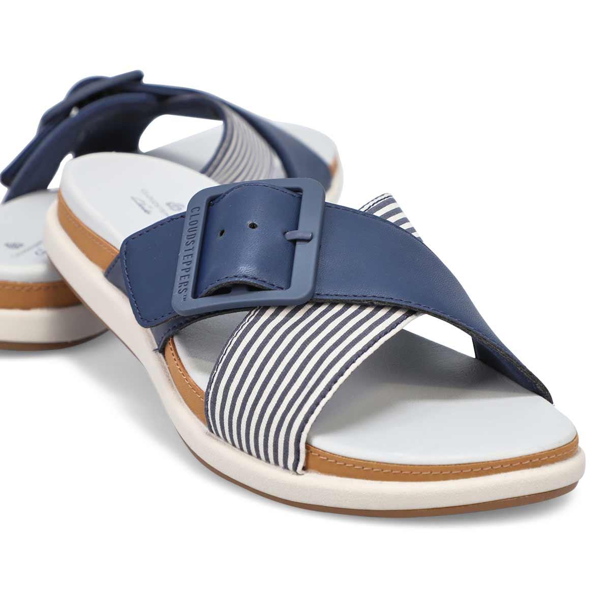 Women's Eliza April Casual Slide Sandal - Navy