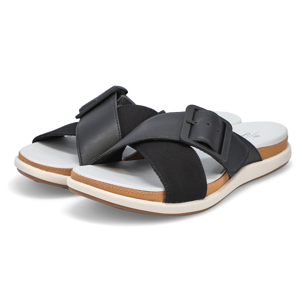 Women's Eliza April Casual Slide Sandal - Black