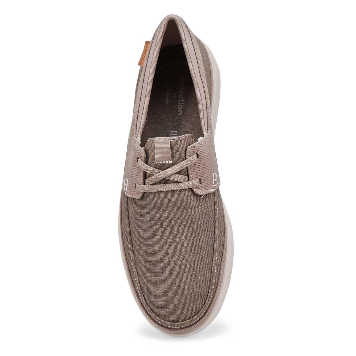 Men's Cantal Lace Wide Casual Shoe - Stone