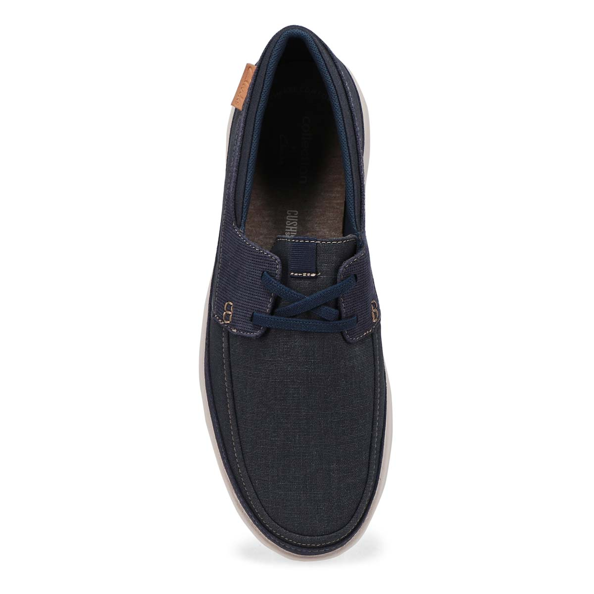 Men's Cantal Lace Casual Wide Oxford - Navy