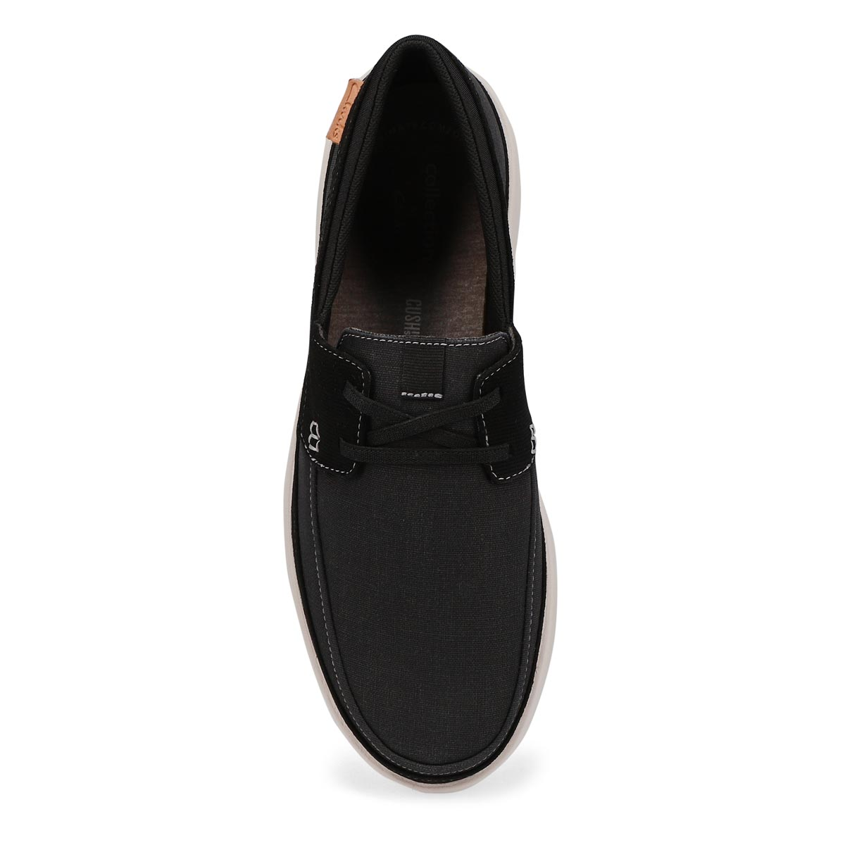 Men's Cantal Lace Casual Wide Oxford - Black