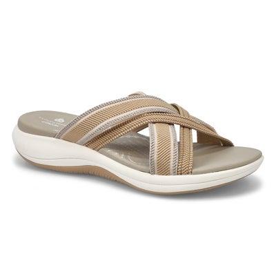 Lds Mira Isle sand casual slide sandal