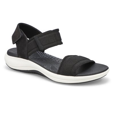 Lds Mira Sea black casual sandal