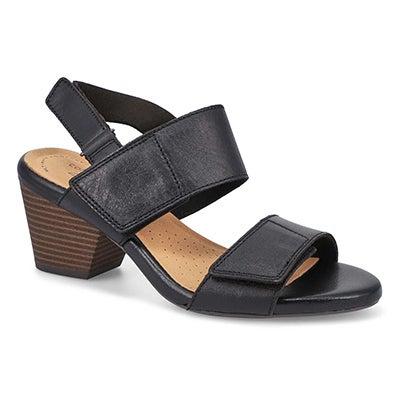 Lds Lorene Bright Dress Sandal-Black