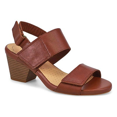 Lds Lorene Bright Dress Sandal-Tan