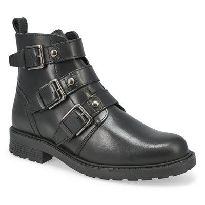 Lds Orinoco 2 Stud Ankle Boot - Black