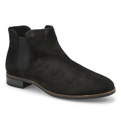 Lds Trish Chelsea Boot- Black