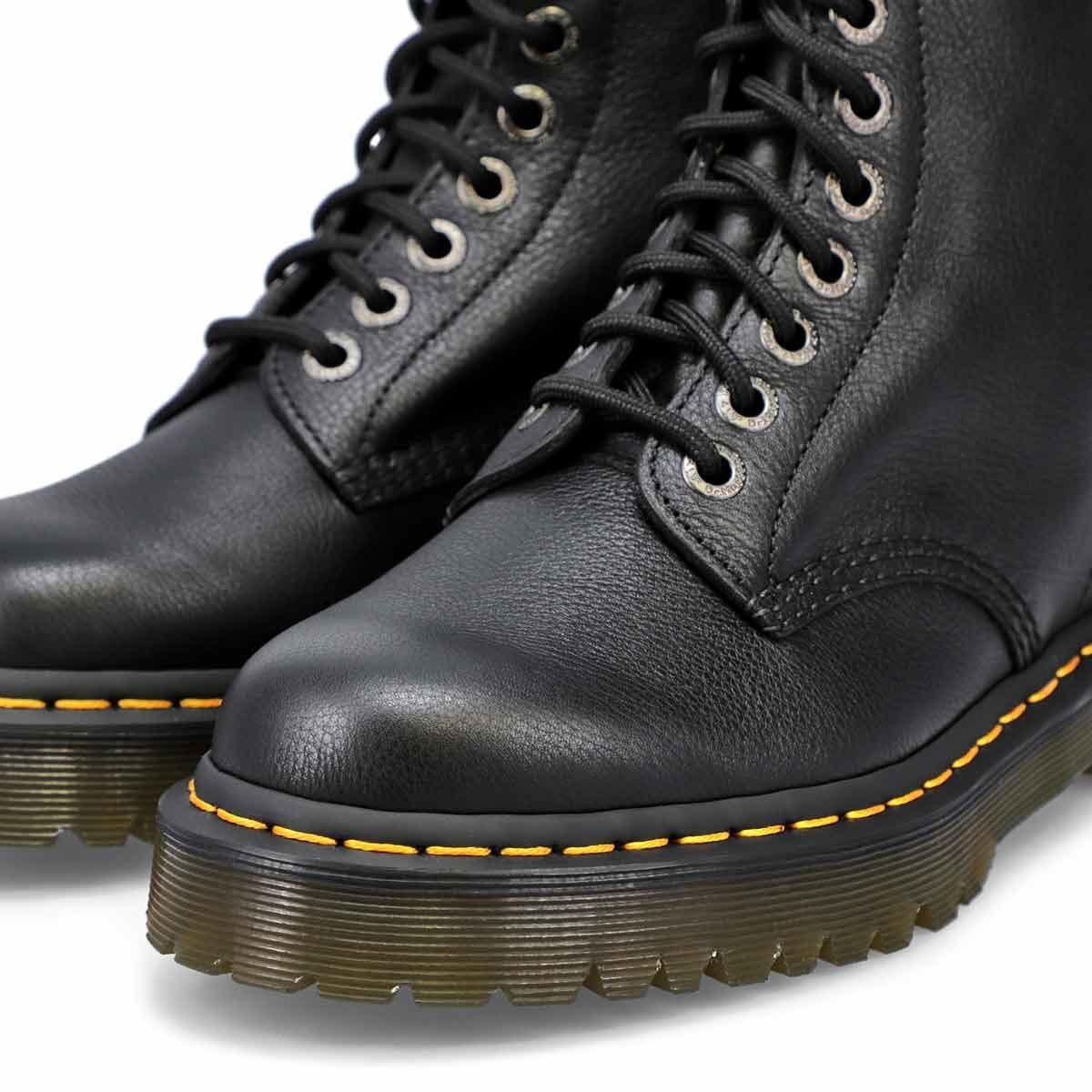 Bottes 8œillets 1460 PASCAL BEX cuir noir, femmes