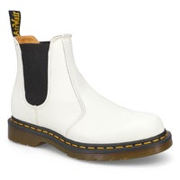 Chelseas 2976 YELLOW STITCH, blanc, femmes