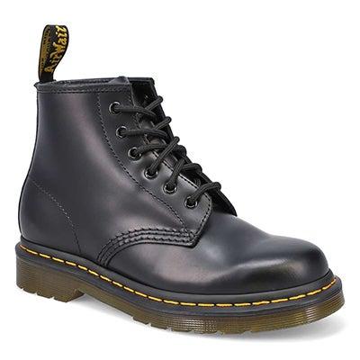 Lds 101 Yellow Stitch black 6-eye boot