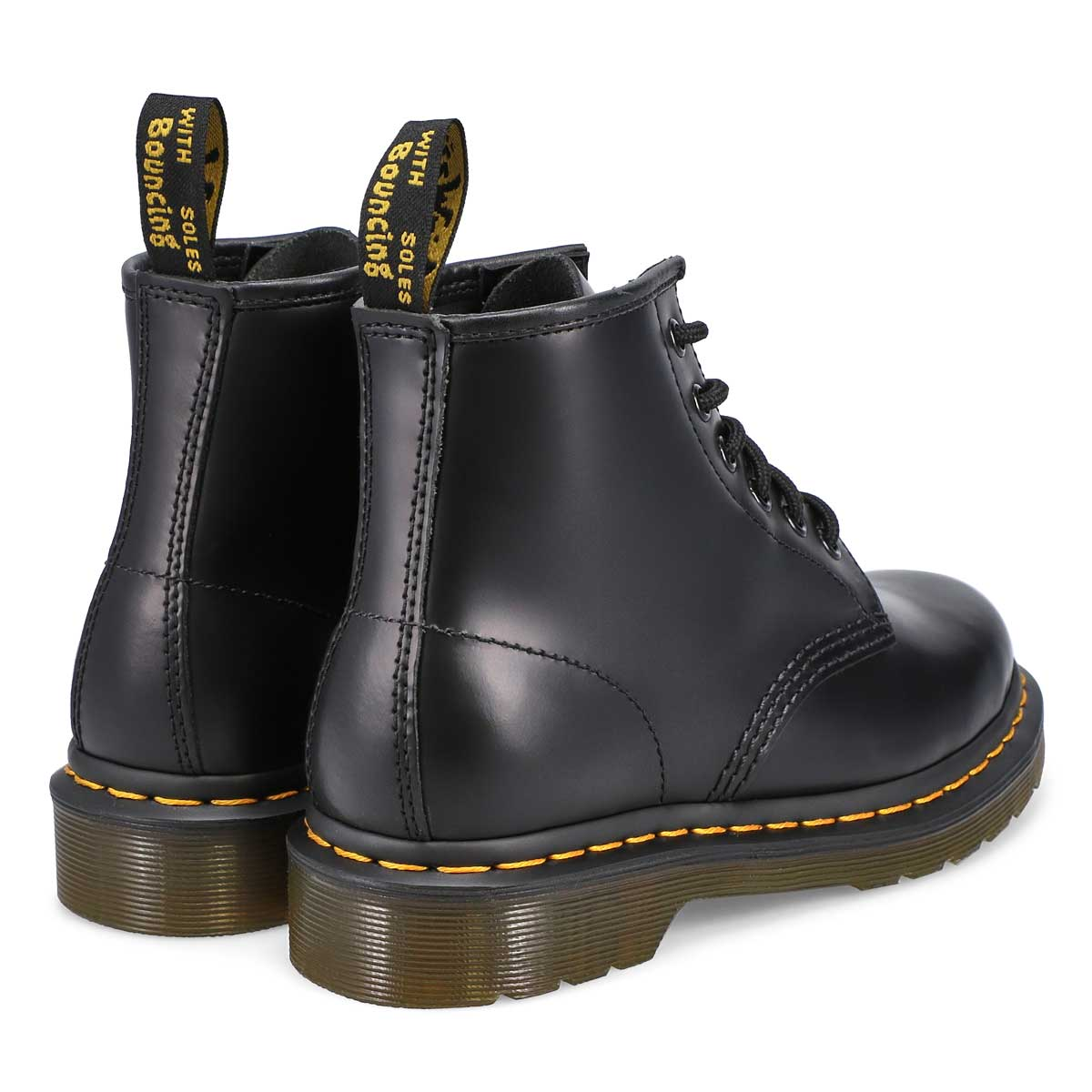 Women's 101 Yellow Stitch Boot - Black