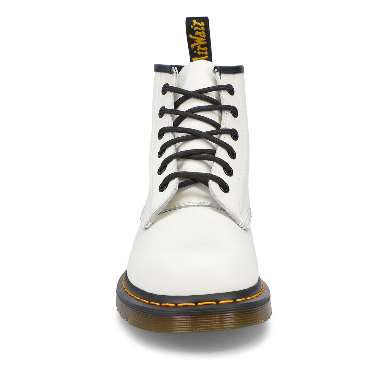 Women's 101 Yellow Stitch Boot- White