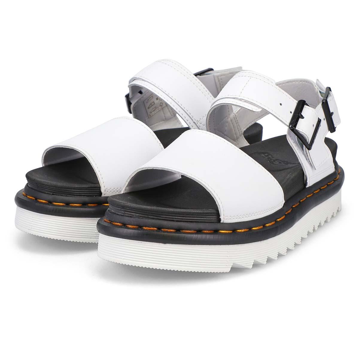 Sandale VOSS 2 brides blanc femmes