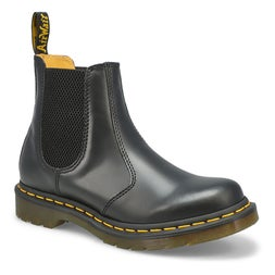 Lds 2976 blk smooth chelsea boot