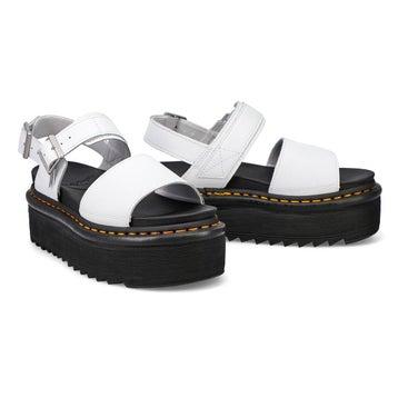 Women's Voss Quad Platform Sandal - White