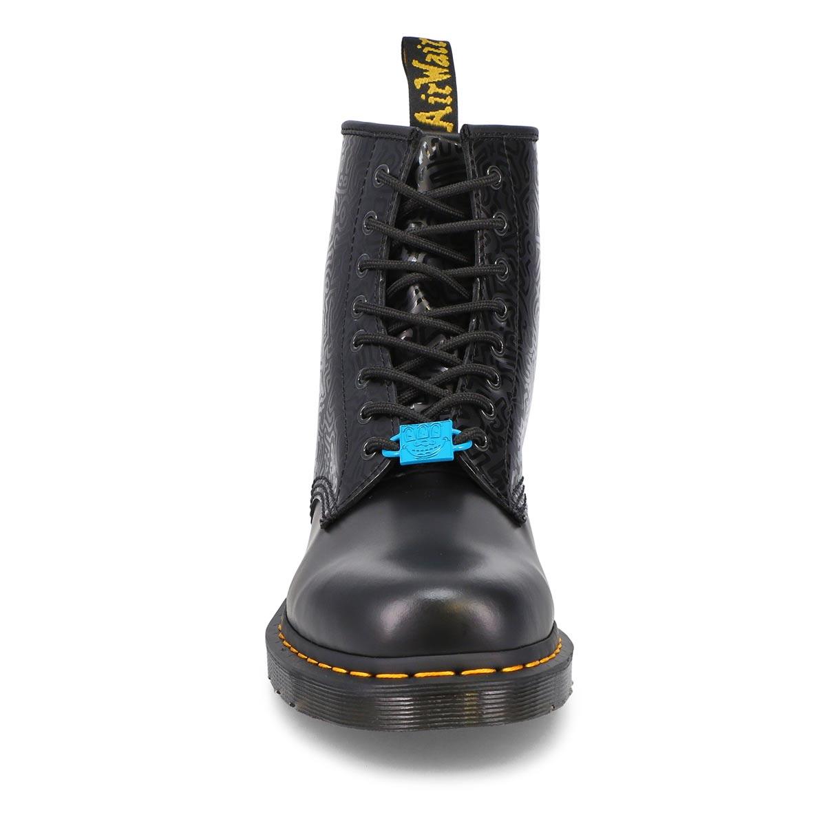 Mens' 1460 Keith Haring Boot - Black