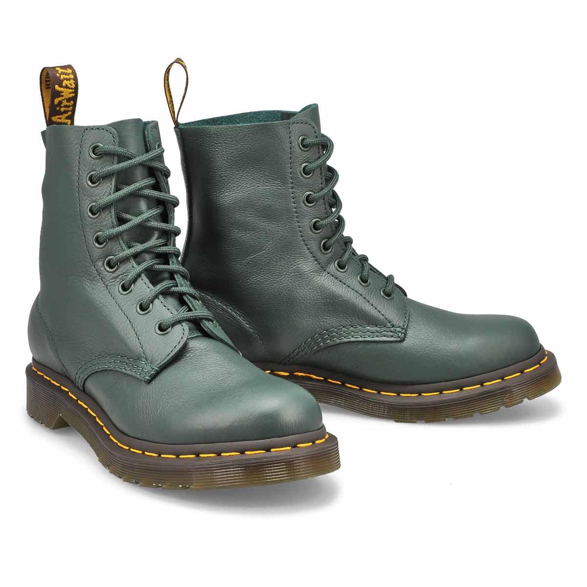 Women's 1460 Pascal 8-Eye Boot -Green