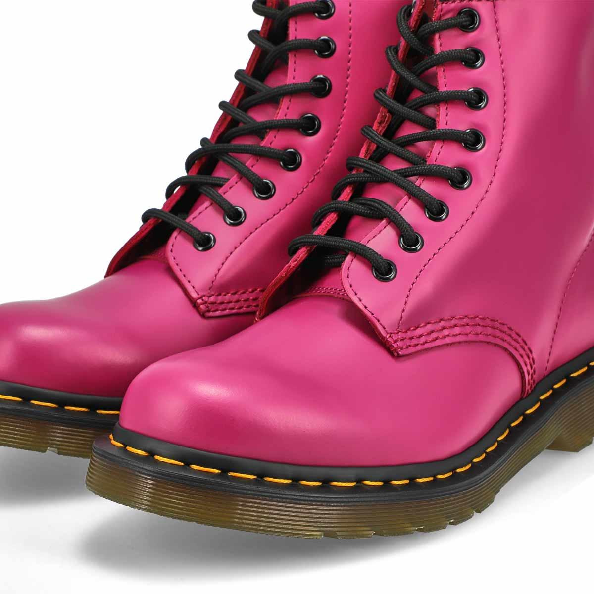 Women's 1460 8-Eye Boot - Fuchsia