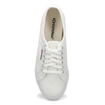 Women's Platform Canvas Sneaker - White