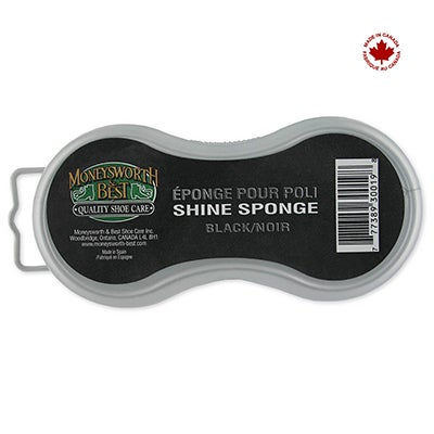 Moneysworth & Best Shoe Care INSTANT SHINE - black