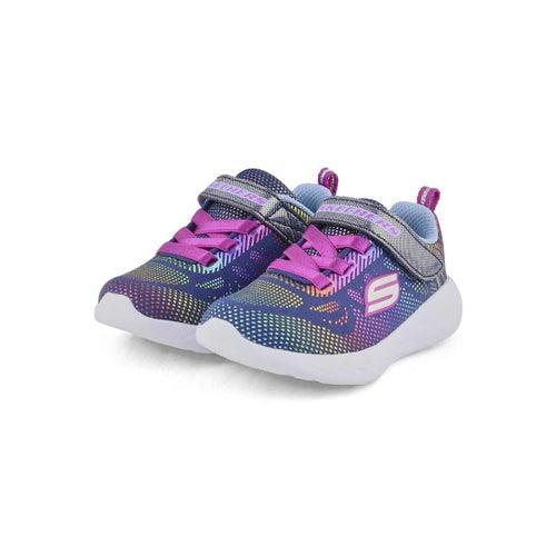 Infs-g Go Run nvy/multi sneaker
