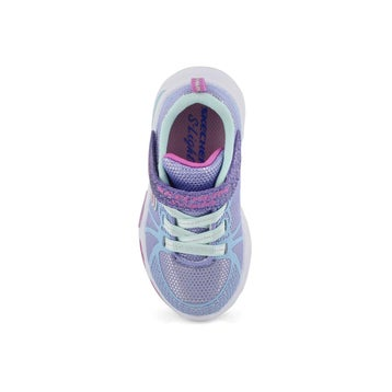 Infants' SHIMMER BEAMS blue light up sneakers
