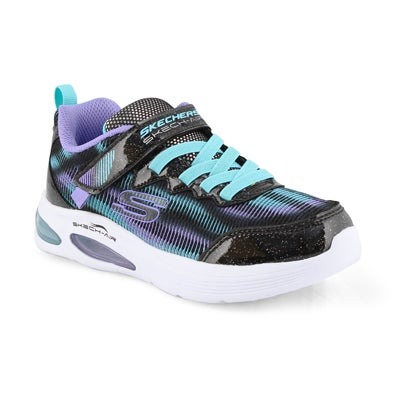 Kids' SKECH-AIR SPEEDER blk/ turq sneakers