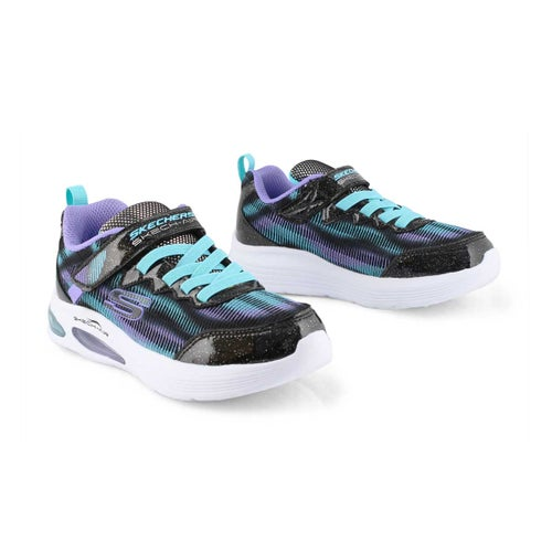 Kds Skech-Air Speeder blk/turq sneaker