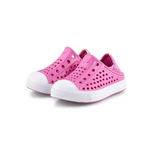 Infs-g Guzman Steps hot pnk slip on shoe