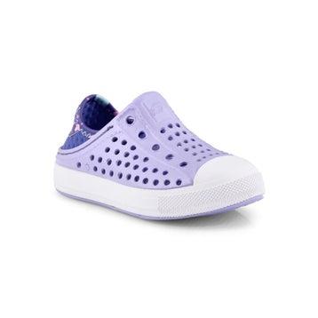 Infants' GUZMAN STEPS lavender slip on shoes