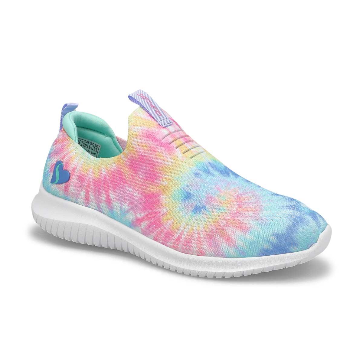 Girls'  Ultra Flex Sneakers - Blue/Multi