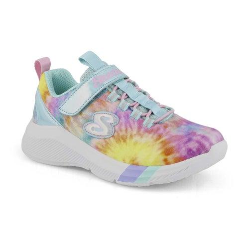 Grls Dreamy Lites trq/mlti sneaker