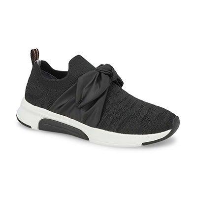 Grls Modern Jogger Slip On Sneaker - Blk