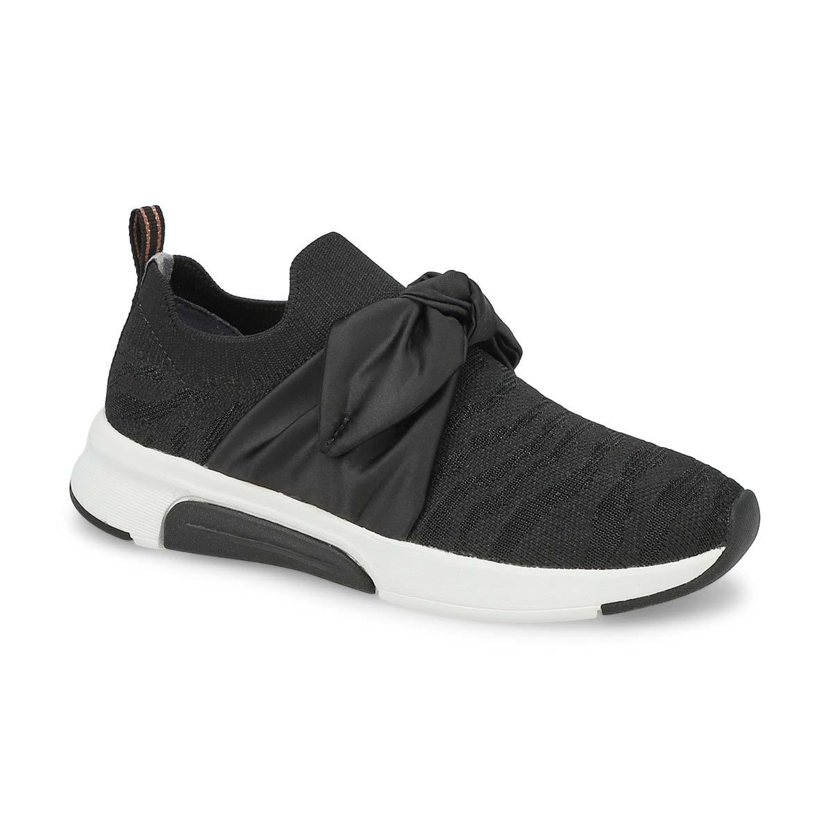 Girls' Modern Jogger Slip On Sneaker - Black