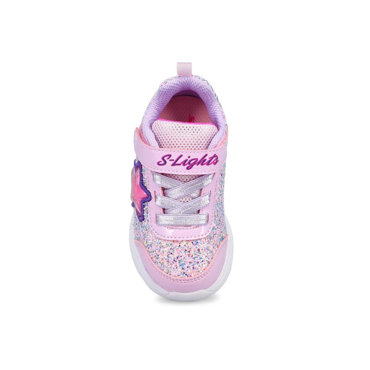 Infants' Glimmer Kicks Lighted Sneaker -Pink/Lav