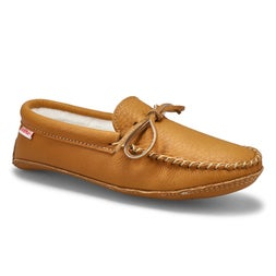 Mns cork moosehide lined soft sole moc