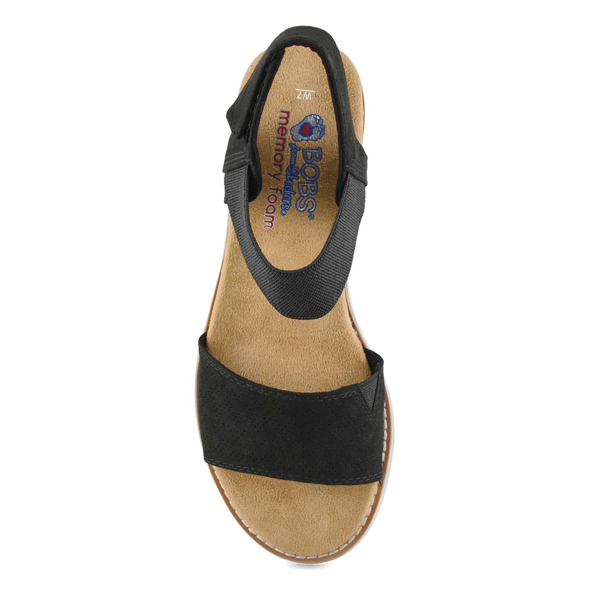 Sandale décont. Desert Kiss, noir, fem
