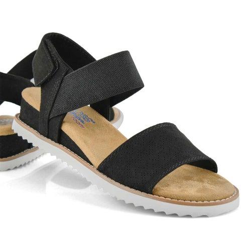 Lds Desert Kiss blk casual sandal
