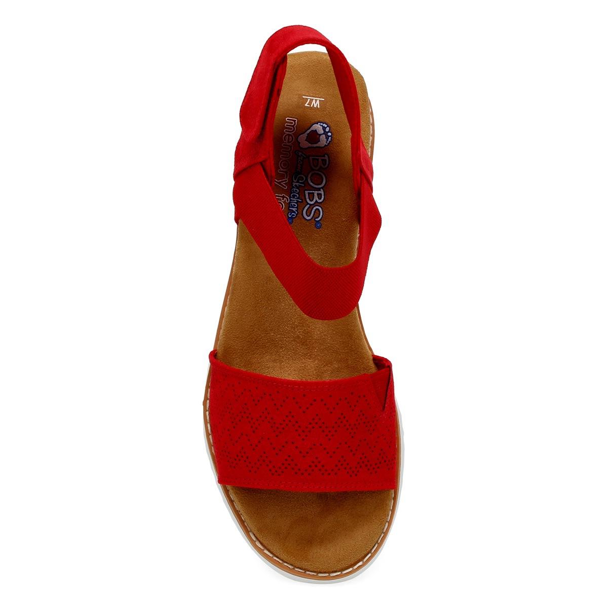 Sandale DESERT KISS rouge
