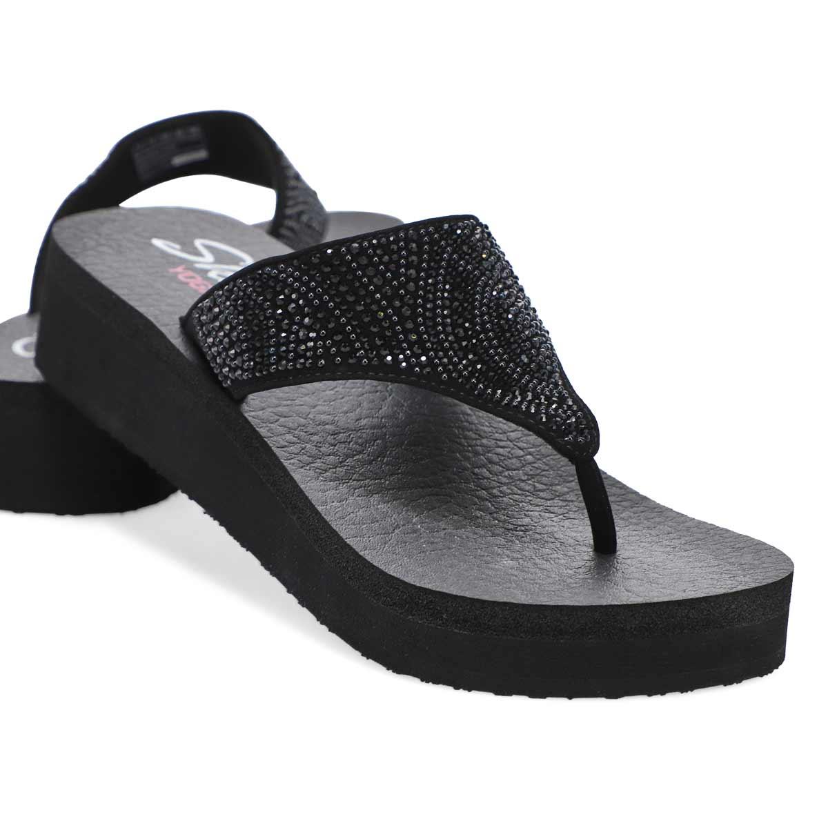 Women's Vinyasa Stone Candy Sandals - Black