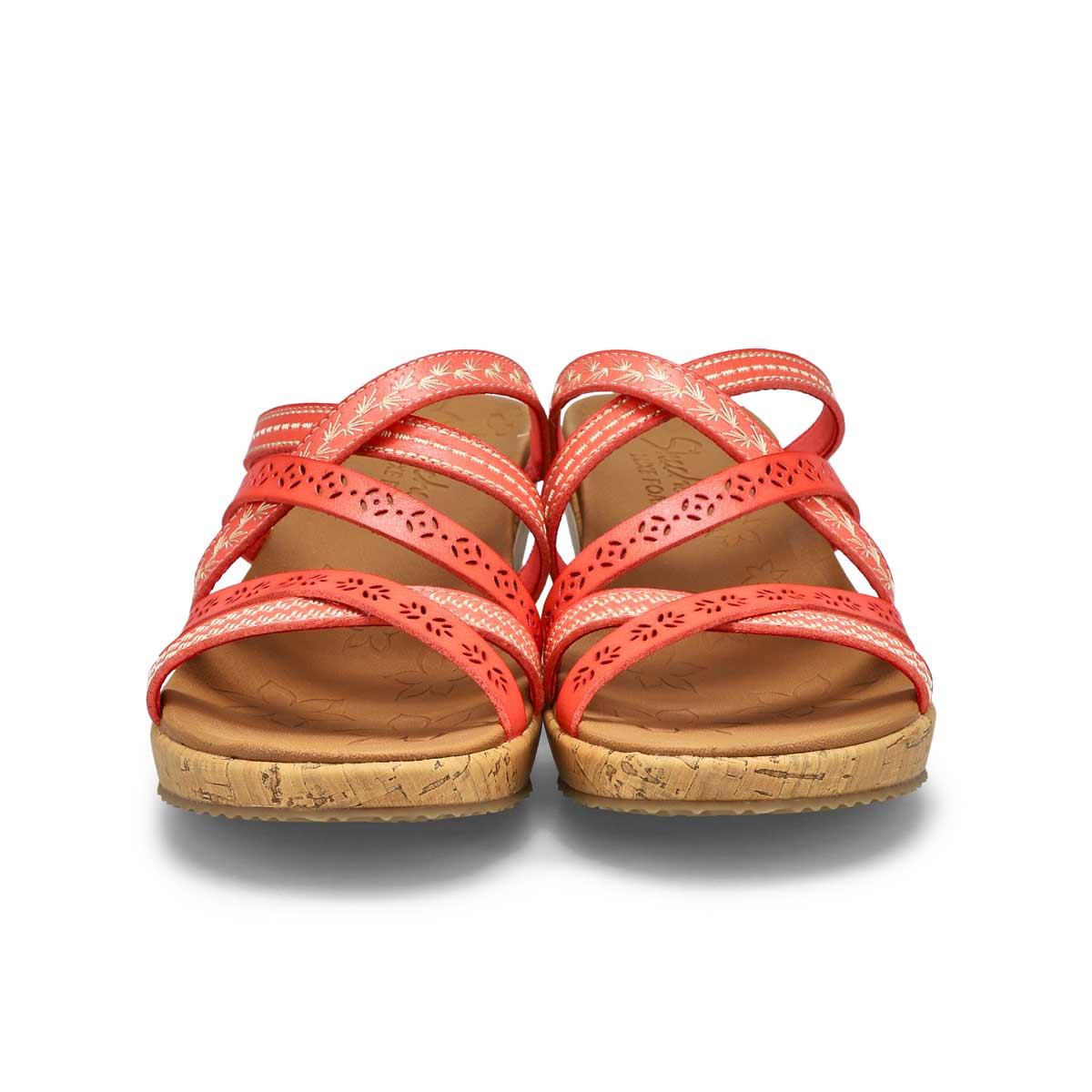 Women's Beverlee Tiger Posse Sandal - Coral