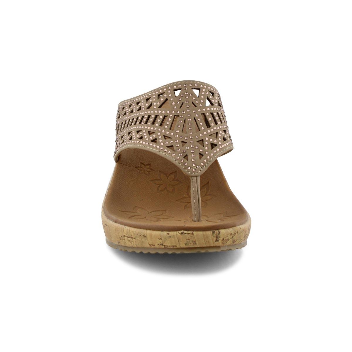 Women's Beverlee Summer Visit Sandal - Taupe