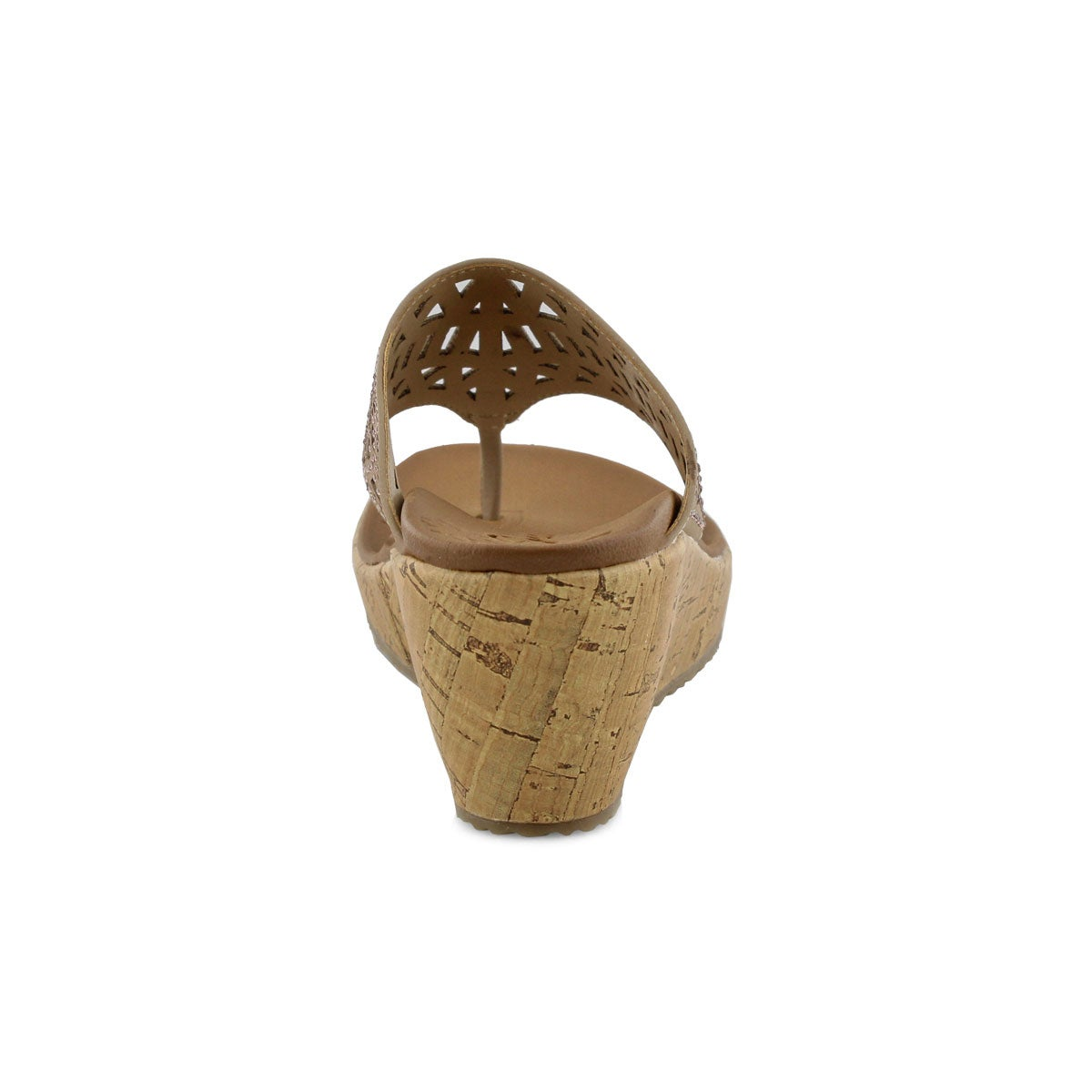 Sandale tong BEVERLEEM, taupe, femmes