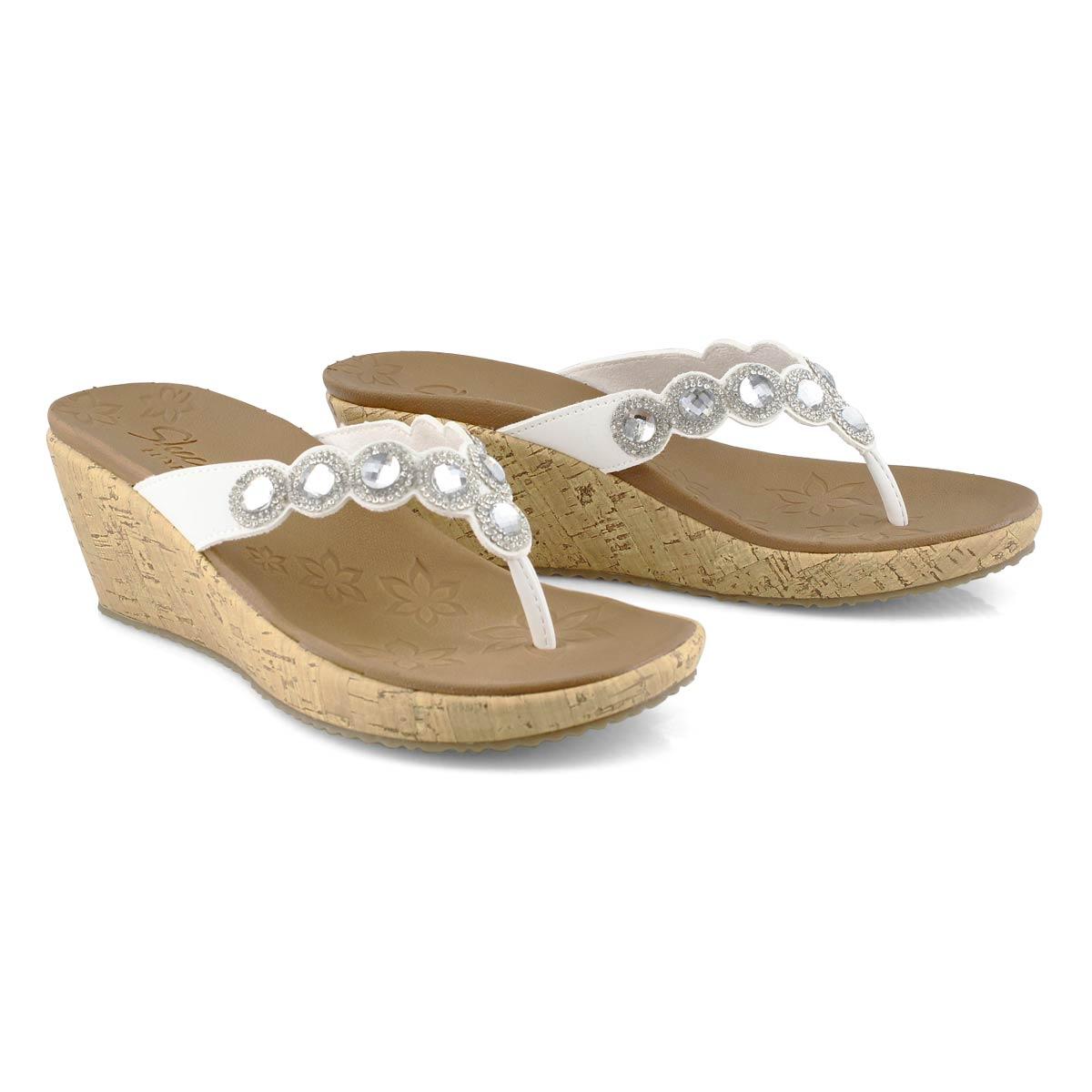 Women's Beverlee Bizzy Babe Sandal - White