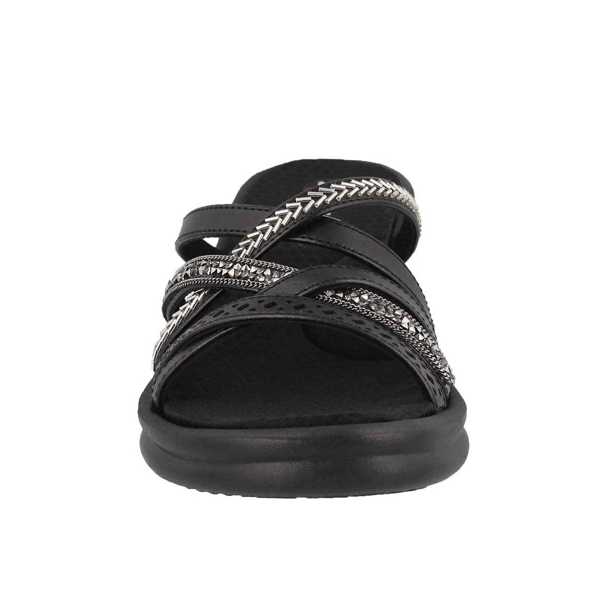 Women's Rumblers Wave New Lassie Sandal - Black