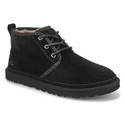 Mns Neumel black lined chukka boot